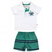 Conjunto Masculino Infantil Branco Starfish Elian