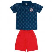 Conjunto Infantil Masculino Azul NYC Abrange