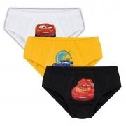 Cueca Infantil Kit 3 Carros Lupo