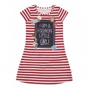 Vestido Infantil Vermelho Little Girl Elian