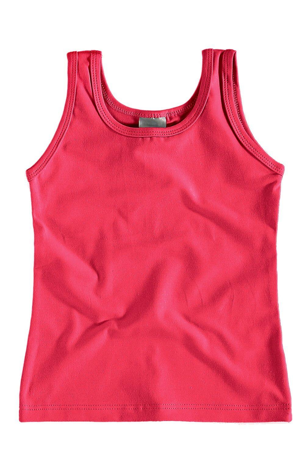 Blusa Infantil Regata Vermelha Feminina Malwee