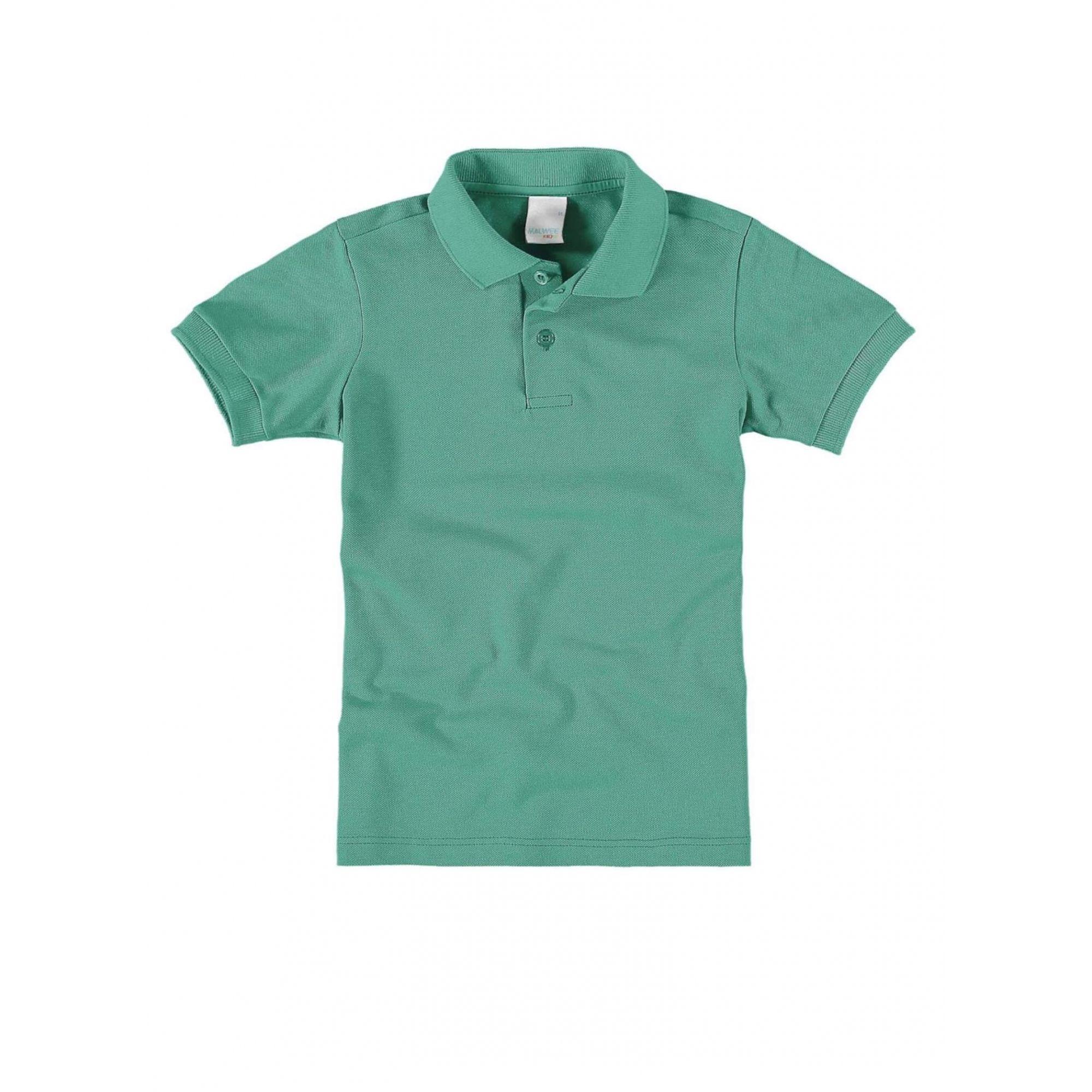 Polo Infantil Verde Masculina Malwee