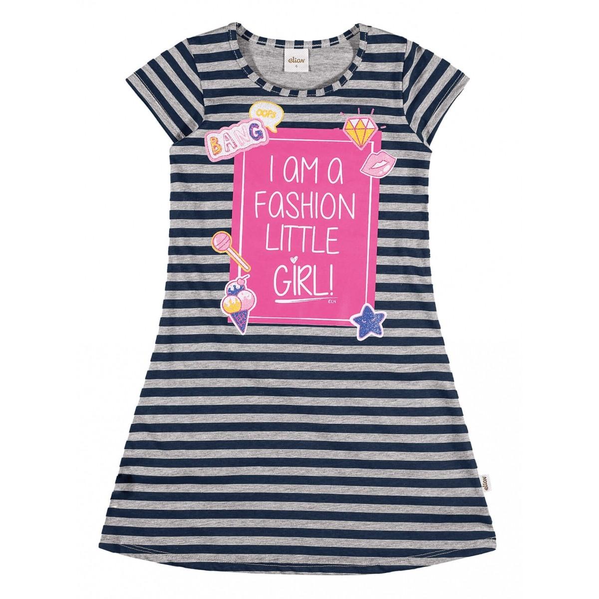 Vestido Infantil Preto Little Girl Elian