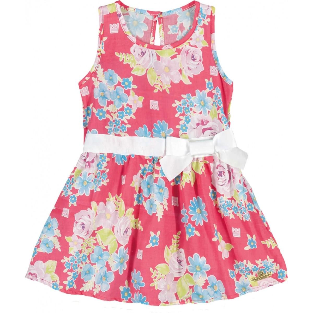 Vestido Infantil Feminino Vermelho Verão Colorittá  9aad58cc2ed81