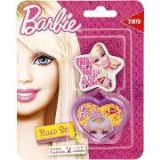 Apontador 1 Furo com Depósito + 1 Borracha Barbie Basic Set Tris