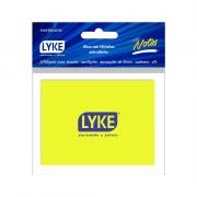 Bloco Auto-Adesivo 76x102mm 100 Folhas Amarelo Lyke