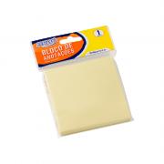 Bloco de Anotações Amarelo Pastel 76 x 76mm 100 Folhas BRW