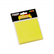 Blocos de Anotações Neon 76 x 76mm Amarelo BRW