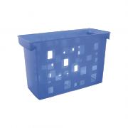 Caixa Arquivo Azul Sem Pasta Suspensa DelloColor