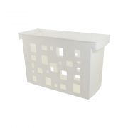 Caixa Arquivo Branco Sem Pasta Suspensa DelloColor