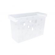 Caixa Arquivo Cristal Sem Pasta Suspensa DelloColor