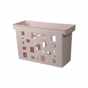 Caixa Arquivo Rosa Claro Sem Pasta Suspensa DelloColor
