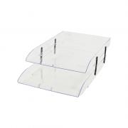 Caixa Correspondência Cristal Articulável Dupla Dello
