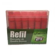 Caixa Refil Marcador Quadro Branco Vermelho 24 und NeoMundi
