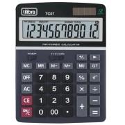 Calculadora de Mesa 12 Dígitos TC07 Preta Tilibra