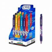 Caneta Esferográfica 1.0 Comfy Lyke 12 cores