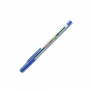 Caneta Esferográfica Fina 0.7mm Azul Compactor