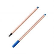 Caneta Microline 0.4mm Azul Compactor