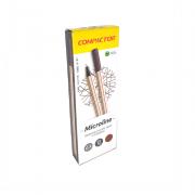 Caneta Microline 0,4mm Marrom 12 und Compactor