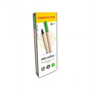 Caneta Microline 0,4mm Verde Claro 12 und Compactor
