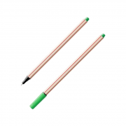 Caneta Microline 0.4mm Verde Claro Compactor