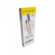Caneta Microline 0,4mm Violeta 12 und Compactor