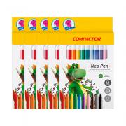 Canetas Hidrocor 12 cores 5 und Neo Pen Gigante Compactor