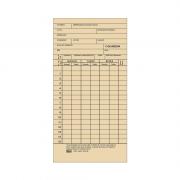 Cartão de Ponto Mensal TA - 100 Folhas Tilibra