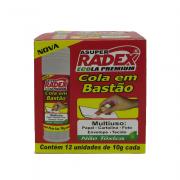 Cola Bastão Ecola 10gr 12 unidades Radex