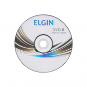 Mídia DVD-R 4.7 gb/120 min 16x Elgin