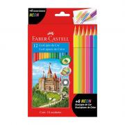 Ecolápis de Cor 12 Cores + 6 Lápis de Cor Neon Faber-Castell