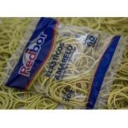Elásticos de Borracha Nº18 Amarelo 50g Redbor