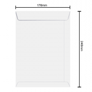 Envelope 176mm x 248mm 75g 6381 Ipecol