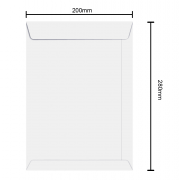 Envelope 200mm x 280mm 90g 6463 Ipecol