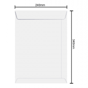 Envelope 240mm x 340 90g 6465 Ipecol