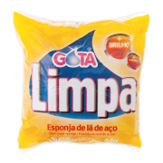 Esponja de Aço 8 und Gota Limpa