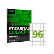 Etiqueta A4 31mm x 17mm 100 folhas Colacril