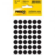 Etiqueta Multiuso Ø 12 mm 5 Folhas TP12 Azul Pimaco
