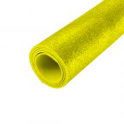 EVA Glitter 400mm x 600mm Amarelo 1.5mm BRW