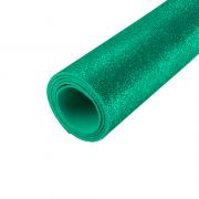 EVA Glitter 400mm x 600mm Verde Fluorescente 1.5mm BRW
