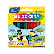 Giz de Cera Big 12 Cores 112gr Acrilex