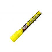 Giz Líquido Amarelo 4g 6mm 12 Unidades BRW