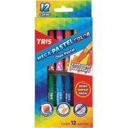 Giz Pastel Óleo 12 Cores Mega Pastel Color Tris