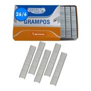 Grampo 26/6 Galvanizado 1000 unidades BRW