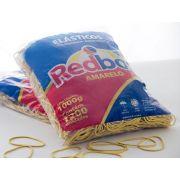 Kit C/ 5 Elásticos de Borracha Nº18 Amarelo 1kg Redbor