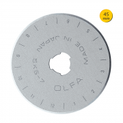 Lâmina Para Estilete Rotativo 45mm RB45-1 Olfa