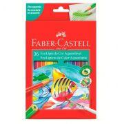 Ecolápis de Cor Aquarelável 36 Cores Faber Castell