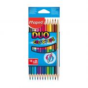 Lápis de Cor Duo 24 Cores Color'Peps Maped