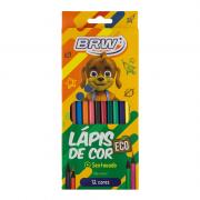 Lápis de Cor Eco 12 Cores BRW