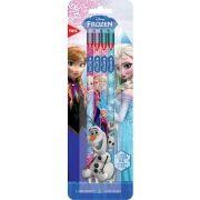 Lápis Grafite HB Nº2 Sextavado com Borracha Frozen 4 unidades Tris